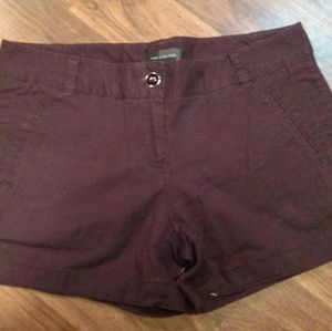 The Limited size 2 dark purple shorts